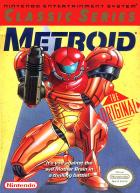 Metroid (NES Classic Series) box art for NES