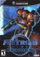Metroid Prime 2: Echoes box art for Gamecube