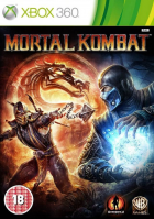 Mortal Kombat box art for Xbox 360