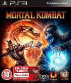 Mortal Kombat box art for PlayStation 3