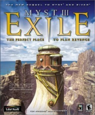 Myst III: Exile box art for PC