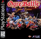 Ogre Battle: Limited Edition box art for PlayStation