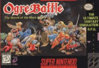 Ogre Battle: March of the Black Queen box art for Super NES