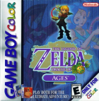 The Legend of Zelda: Oracle of Ages box art for Game Boy Color