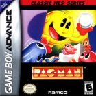 Classic NES Series: Pac-Man box art for Game Boy Advance