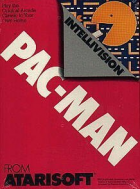 Pac-Man box art for Intellivision