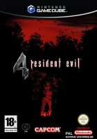 Resident Evil 4 box art for Gamecube