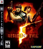Resident Evil 5 box art for PlayStation 3
