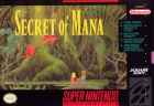 Secret of Mana box art for Super NES