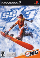 SSX 3 box art for PlayStation 2