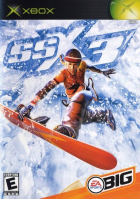 SSX 3 box art for Xbox