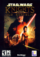 Star Wars: Knights of the Old Republic box art for PC