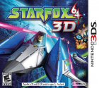 Star Fox 64 3D box art for Nintendo 3DS