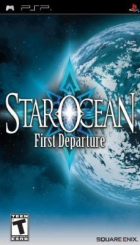 Star Ocean: First Departure box art for PSP