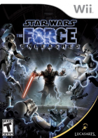 Star Wars: The Force Unleashed box art for Wii