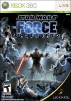 Star Wars: The Force Unleashed box art for Xbox 360
