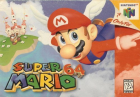 Super Mario 64 box art for Nintendo 64