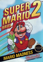 Super Mario Bros. 2 box art for NES