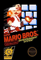 Super Mario Bros. box art for NES