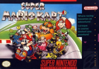 Super Mario Kart box art for Super NES