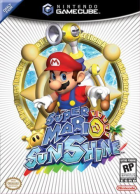 Super Mario Sunshine box art for Gamecube