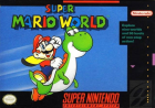 Super Mario World box art for Super Nintendo