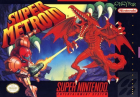 Super Metroid box art for Super NES