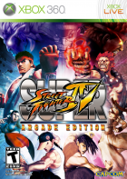 Super Street Fighter IV: Arcade Edition box art for Xbox 360