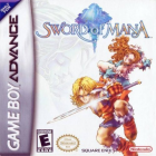Sword of Mana box art for Game Boy Advance
