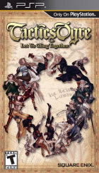 Tactics Ogre: Let Us Cling Together box art for PSP