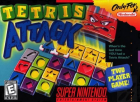Tetris Attack box art for Super NES