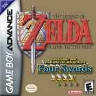 The Legend of Zelda: A Link to the Past & Four Swords box art for Game Boy Advance