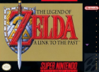 The Legend of Zelda: A Link to the Past box art for Super NES