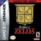 The Legend of Zelda (Classic NES Series) box art for Game Boy Advance