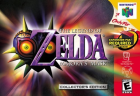 The Legend of Zelda: Majora's Mask box art for GameCube