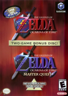 The Legend of Zelda: Ocarina of Time + Master Quest box art for Gamecube