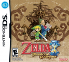 The Legend of Zelda: Phantom Hourglass box art for Nintendo DS