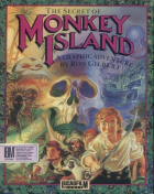 The Secret of Monkey Island box art for MS-DOS