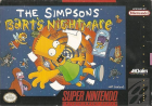 The Simpsons: Bart's Nightmare box art for Super NES