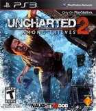 Uncharted 2: Among Thieves box art for PlayStation 3