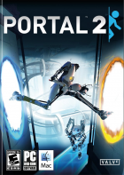 Portal 2 box art for Steam