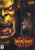Warcraft III box art for PC