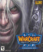Warcraft III: The Frozen Throne box art for PC