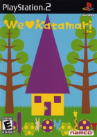 We ♥ Katamari box art for PlayStation 2