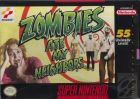 Zombies Ate My Neighbors box art for Super NES