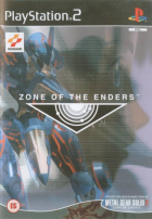 Zone of the Enders box art for PlayStation 2