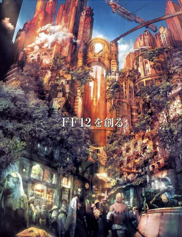Final Fantasy XII concept art