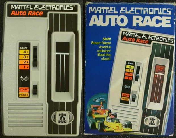 Auto Race, a primitive handheld from Mattel