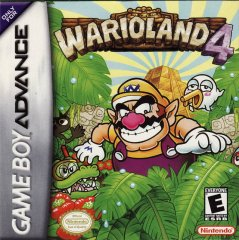 Wario Land 4 box art