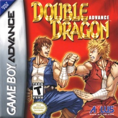 Double Dragon Advance box art